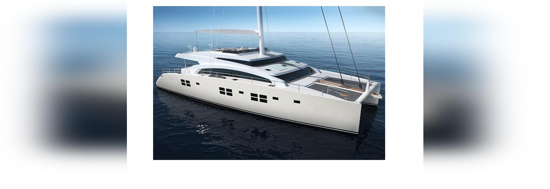 Les yachts de Sunreef construit une 88Ft double plate-forme naviguant le superyacht