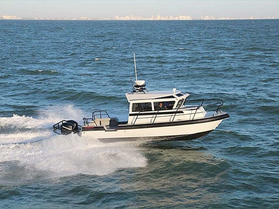 Workboat d'aluminium de 32 sentinelles