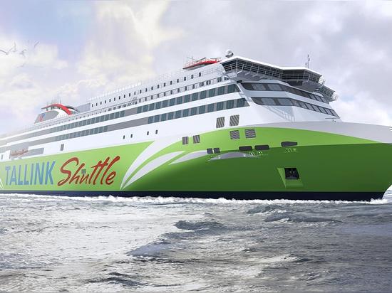 La production d'un GNL de nouvelle génération a actionné le bac rapide pour Tallink mis en marche chez Meyer Turku