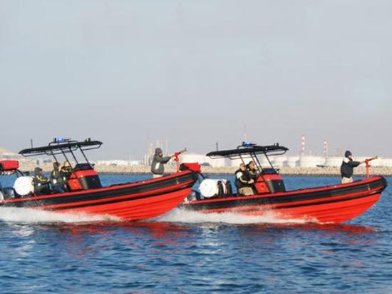 Un aéroport en Asie reçoit le feu et des bateaux de sauvetage d'ASIS.