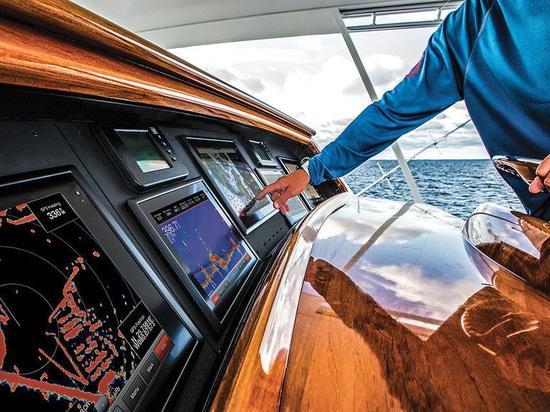 L'électronique marine (courtoisie de Marlin)