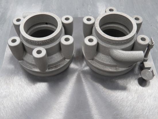 Le métal 3D a imprimé la tubulure (la courtoisie de Renishaw)