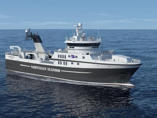 Rolls Royce pour livrer l'équipement diesel-électrique de propulsion au nouveau bateau de pêche