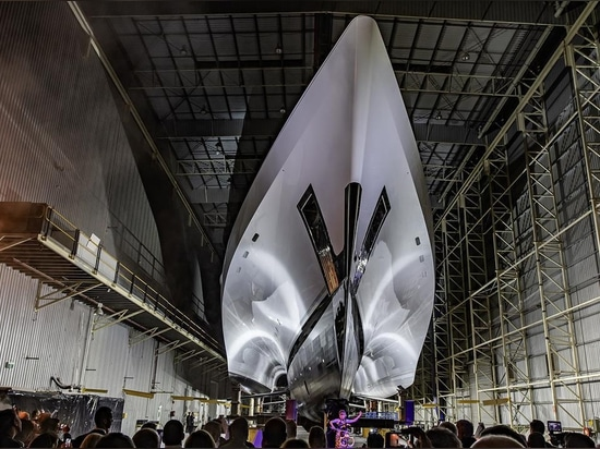 Echo Yachts dispose à lancer le plus grand golf blanc tri décortiqué de lapin du yacht du monde
