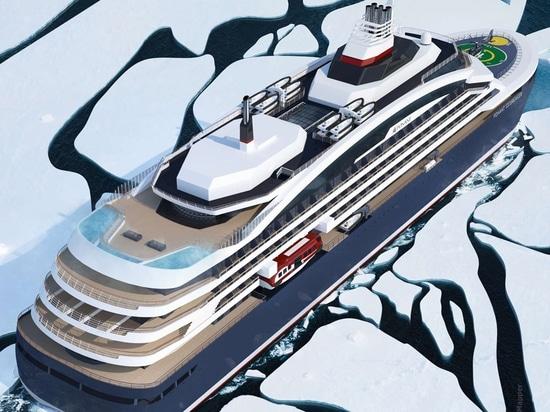 Le premier bateau de croisière de luxe du brise-glace du monde