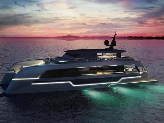 Les yachts de Sunreef dévoile le modèle de catamaran de puissance de 36,6 mètres