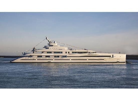 Lancé : Oeil plus attentif au nouveau superyacht FB 277 de 107m Benetti