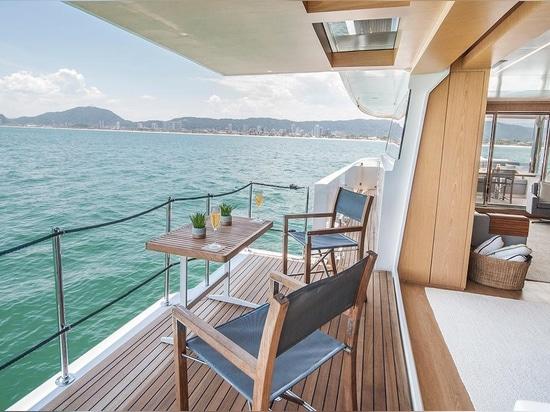 Le MCP lance le yacht Ragnar de THD 925