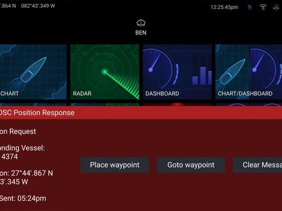 Raymarine Ray90, une radio À ONDES MÉTRIQUES complète de boîte noire avec les combinés et l'audio sans fil de Bluetooth