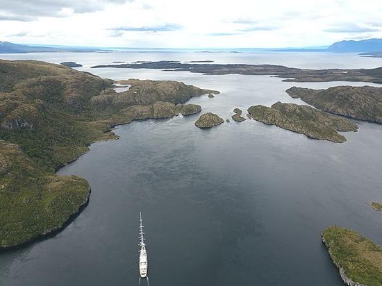 Anecdotes des fjords Patagonian