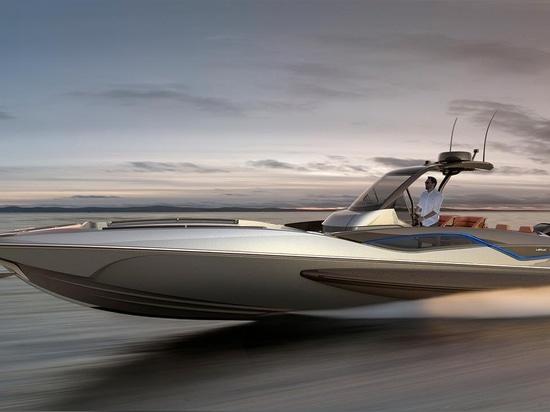 Sunseeker indique le bateau Hawk modèle 38 de jour de haute performance