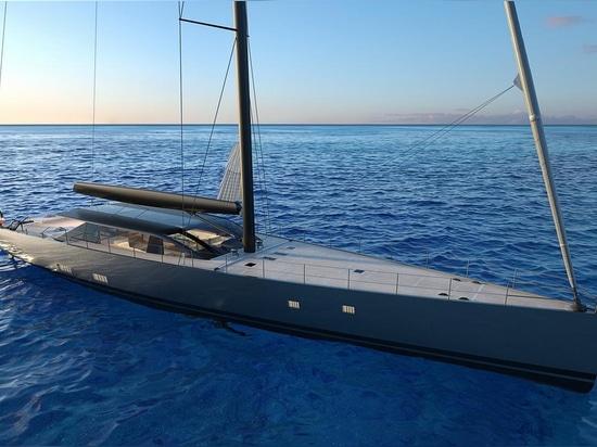 Perini Navi lance le yacht d'évolution de projet de 42m