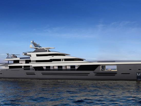 Le concept de superyacht 90m de Nobiskrug Legato