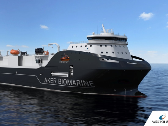 Wärtsilä va concevoir et équiper un navire de transport pour Aker BioMarine