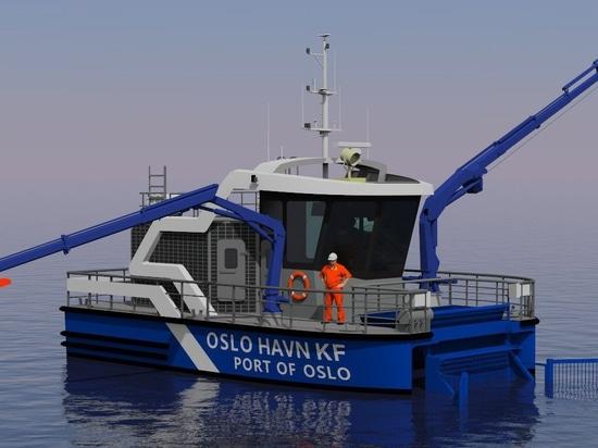 Le fournisseur de batteries annoncé pour le premier bateau de ramassage de déchets portuaires entièrement électrique au monde