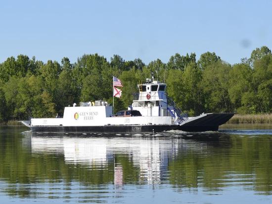 Le premier ferry-boat tout électrique pour véhicules à passagers des États-Unis entre en service en Alabama