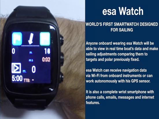 montre d'esa : le premier smartwatch du monde conçu pour la navigation