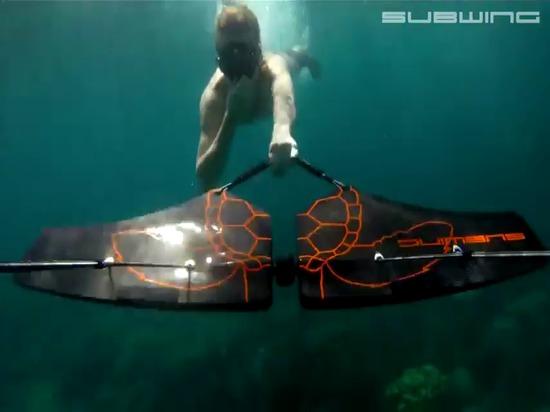 Folie sous-marine de SUBWING…
