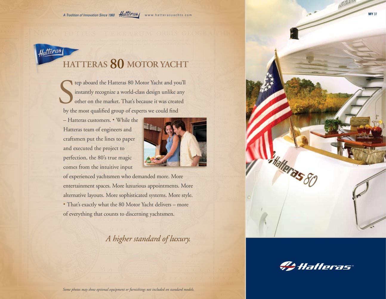 Voir les autres catalogues de la société Hatteras Yachts