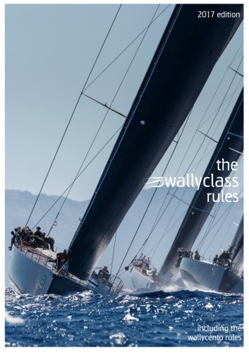 wally class rules