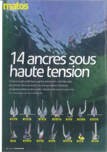 Test et comparatif ancre   Voile magazine Mai 2012