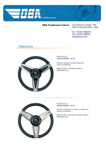Steering Wheels Maestrale