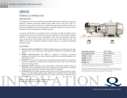 Quantum HPU QRS20