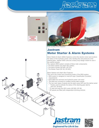 Motor Starter & Alarm Systems