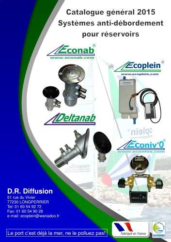 Catalogue produits DR DIFFUSION