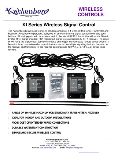 KI Series Wireless Control