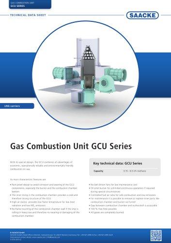 Gas Combustion Unit GCU