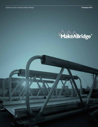 Système de ponts modulaires Make-A-Bridge® de MAADI Group
