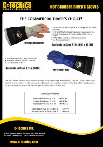 Hot Crabbers Gloves