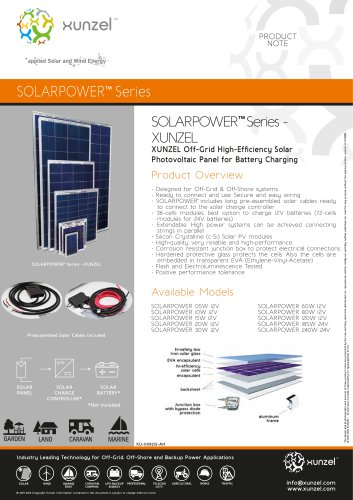 SOLARPOWER™ Series