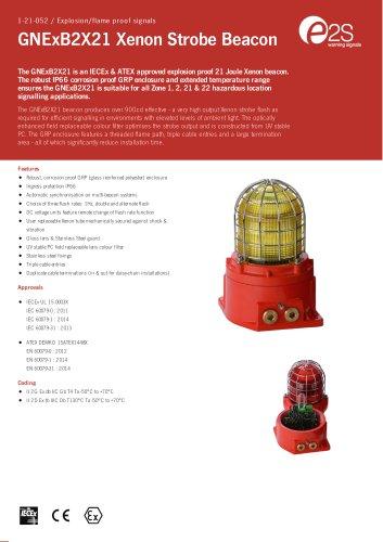 GNExB2X21 Xenon Strobe Beacon