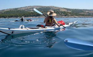 Kayaks, Avirons