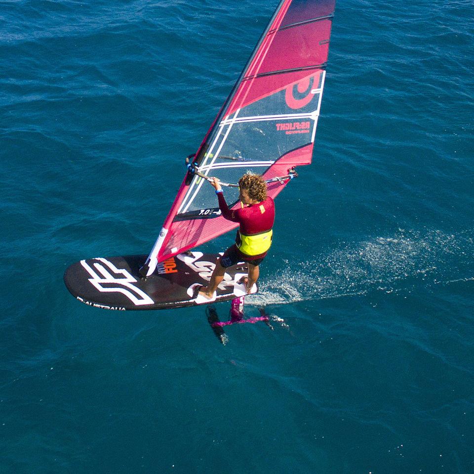 Planche A Voile De Freeride Hydrofoil Series Jp Australia De Slalom Avec Foil