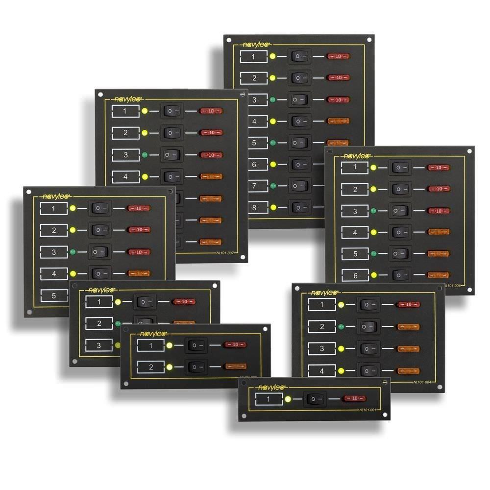 Tableau électrique Pour Bateau Nl101 008 Navylec De Courant Led