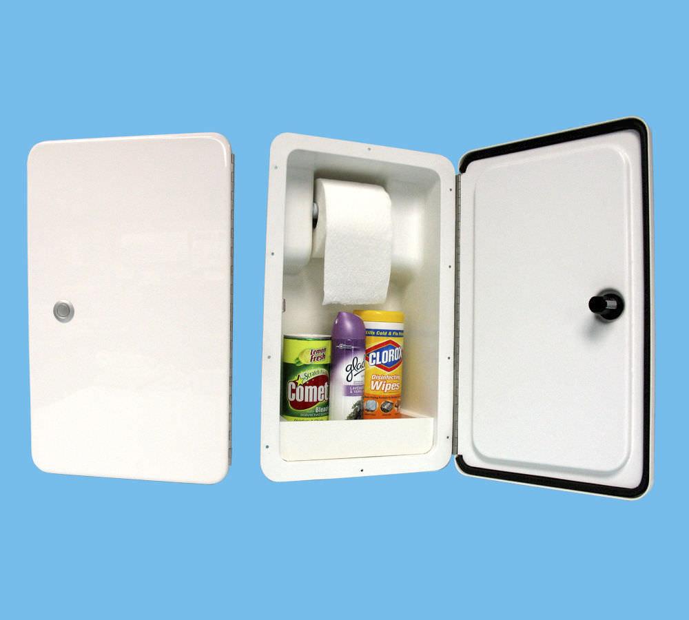 Rangement De Papier Toilette coffre de rangement pour papier toilette / encastrable