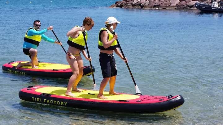 Stand Up Paddle Gonflable Maxi 13 Tiki Factory Allround Pour 1 à 3 Personnes En Pvc