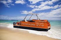 Bateau ponton hors-bord / open / à console latérale / hydrojet