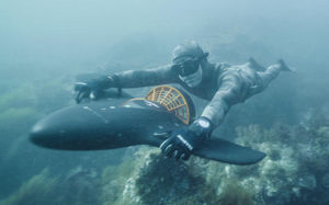 aile sous-marine avec hélice