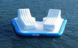 jeu aquatique plateforme / île / flottant / pour yacht