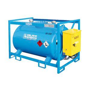 réservoir à carburant / pour bateau / avec pompe de transfert / en métal