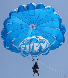 parachute ascensionnel sur mesure