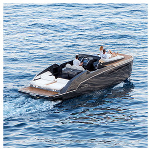 cabin-cruiser catamaran