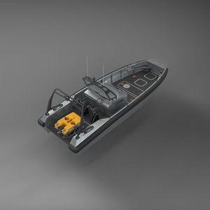 bateau de travail / bateau utilitaire / bateau de support pour la plongée / bateau de service