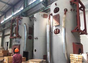 chaudière pour navire avec récupération de gaz d'échappement / à mazout