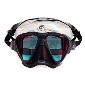 masque de plongée bi-hublots / anti-UV