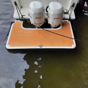 plateforme pour bateau / pour annexe / gonflable